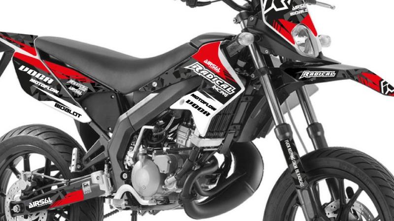 Dekore Für Derbi Senda 50 Drd Racingx Treme Motor D50b0