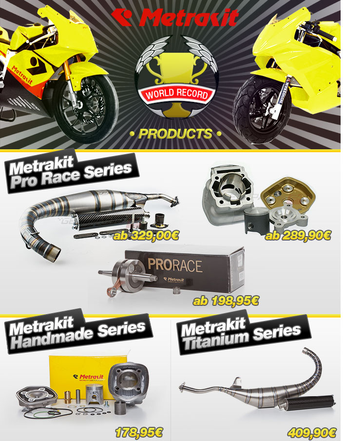 Metrakit World Record Products