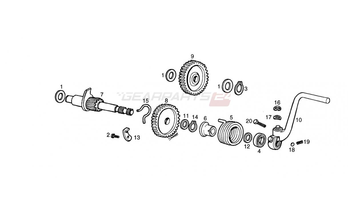 Garelli Parts  Myrons Mopeds