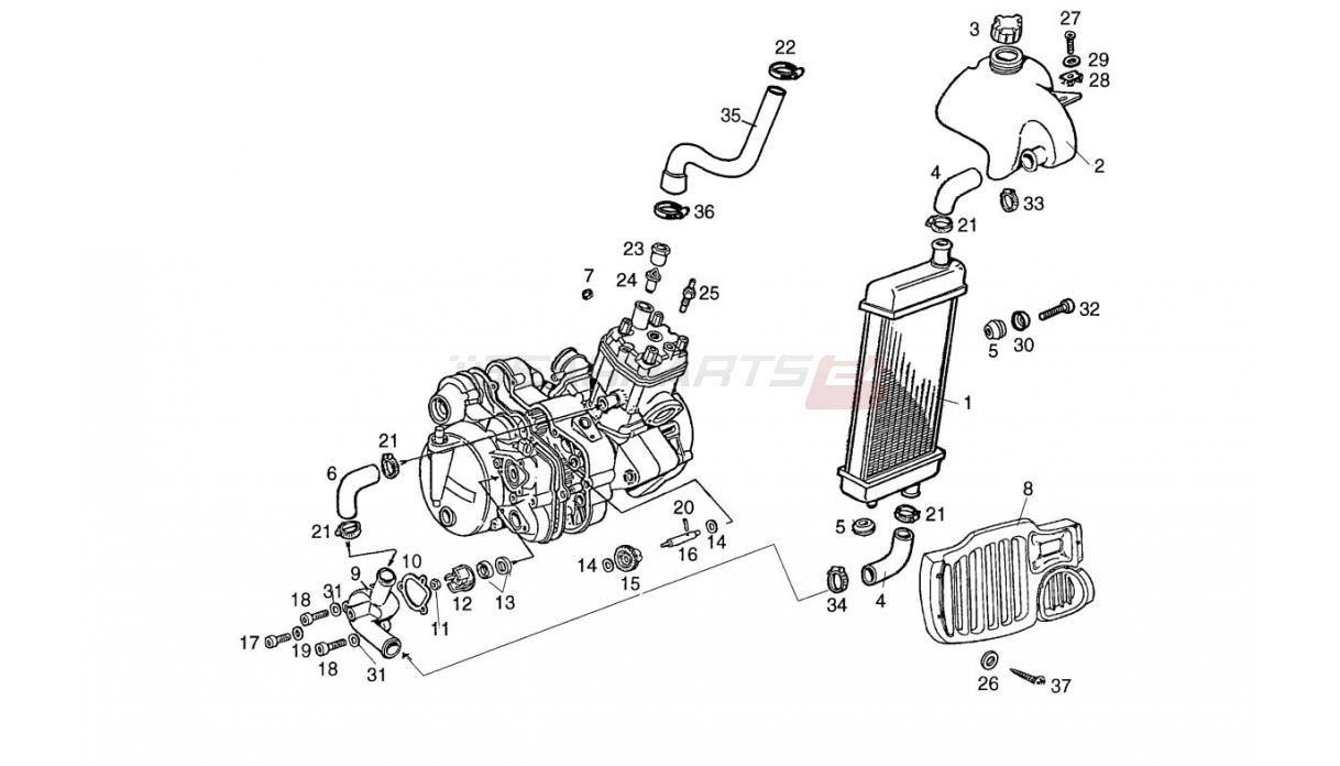 Yamaha Preadator Starter